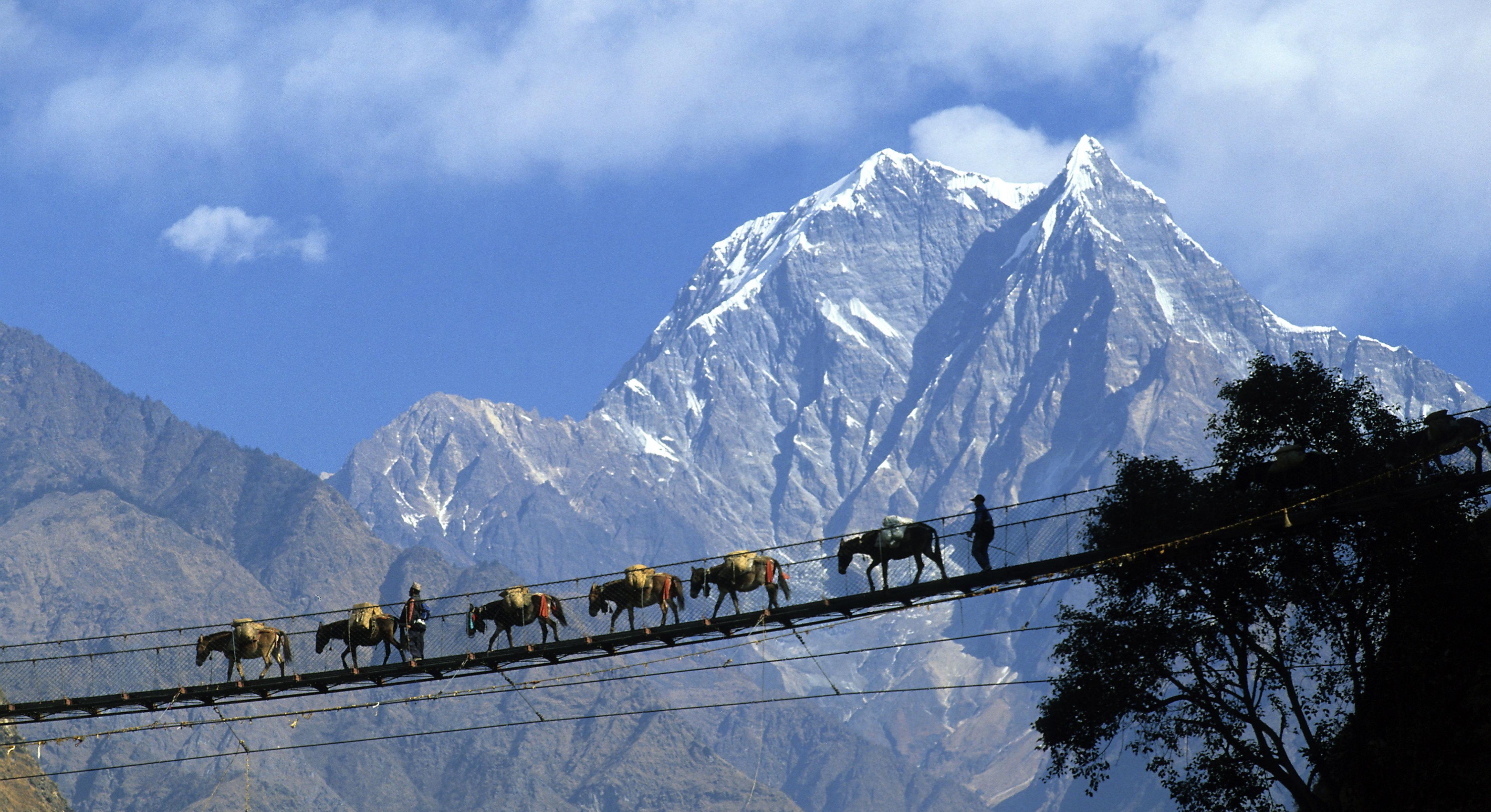 Nepal, Annapurnas region
